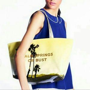 Kate Spade Palm spring or bust bag purse